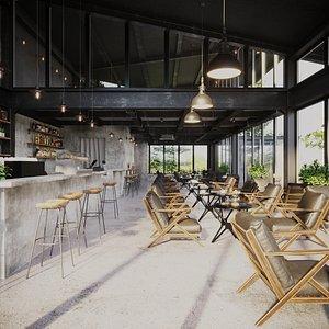 Cafe Design 11 3D