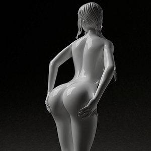 3D Woman figure nude 3d printable
