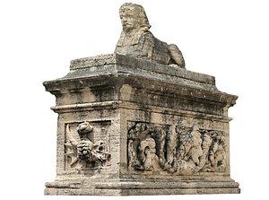 Rome Garden Sculpture model