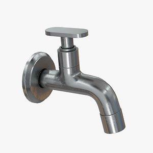 3D model tap decoration fixture