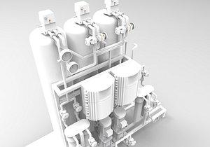 3D osmosis reverse model
