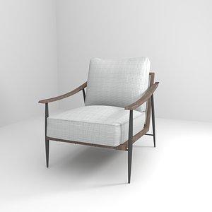 3D model chair furnitur