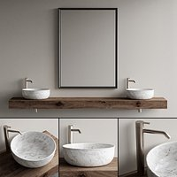 Inbani Strato Vanity Unit Set 4