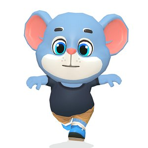 mouse rat rodent animations 3D model