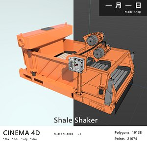 3D shale shaker
