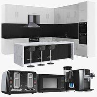 Kitchen Unit With Appliances