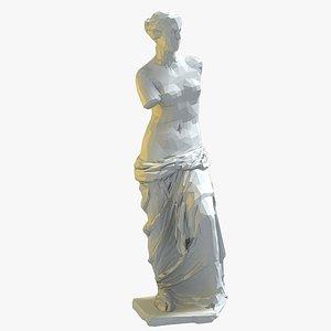 3D statue venus milo
