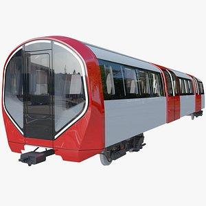 new tube london 3D model