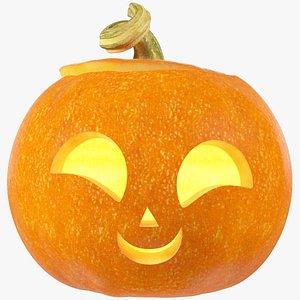 Halloween Pumpkin V6 3D