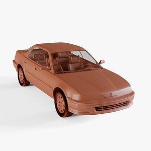 acura integra 3D model