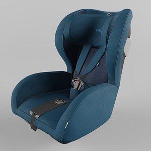 Recaro KIO Children Car Seat Select Teal Green 3D model