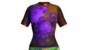 Zip UP Bodysuit 3D model