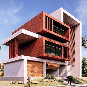 modern building 23 3D