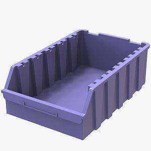 3D Storage Box Bin Stackable