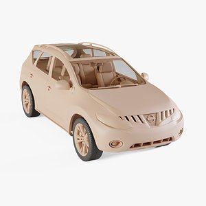 3D model 2010 Nissan Murano