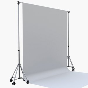 3D photography backdrop support
