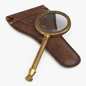 magnifier case pbr 3D