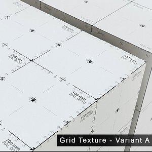 3D scale grid - assets