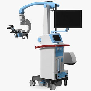 Surgical Microscope 3D model