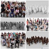 182X 3D PEOPLE MEGAPACK