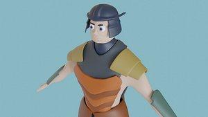 3D Samuray model