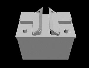 Acumulador - Bateria  - Car Battery 3D model