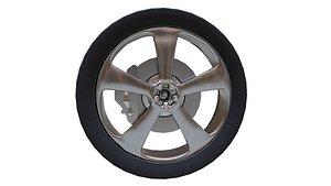 Tyre 01 3D model