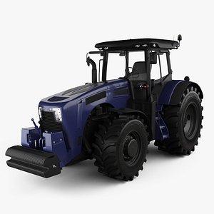 3D model generic tractor 2020