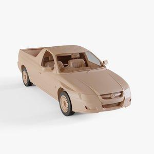 2004 Holden Ute 3D model