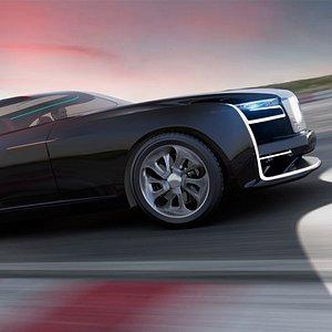 Concept Car R90 Diamond 2 3D model