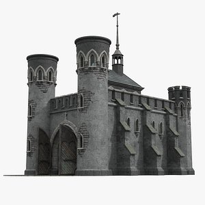 gothic outpost 3D model