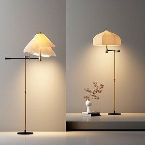 3D Delicate floor lamp model