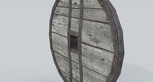 Wagon Wheel 6 3D model