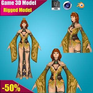 3D princess model
