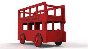 3D London bus Toy