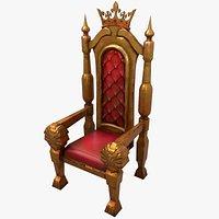 Stylized Throne