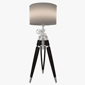 tripod lamp model