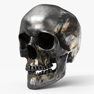 3D Human Skull  Iron Giant - PBR