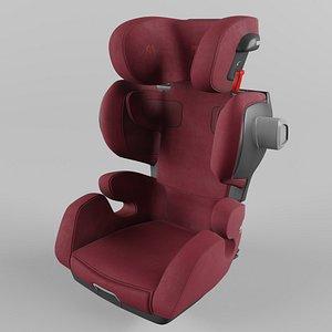 Recaro Mako Elite Children Car Seat Select Garnet Red 3D model