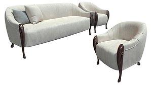 Sofa GIORGIO CASA S503 01 3D model