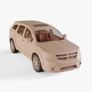 2011 Dodge Journey 3D model