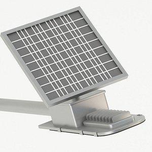 Solar Energy - Solar Cell 3D model
