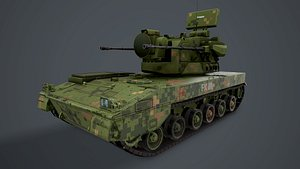 PGZ-09 SPAAG Chinese 3D model