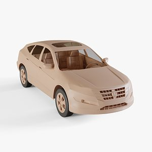 2010 Honda Accord Crosstour 3D model