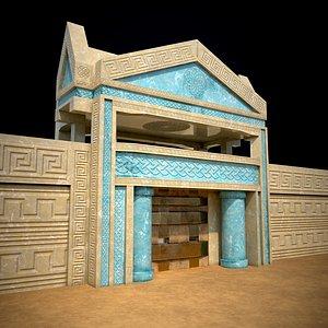 Ancient Barrack 3D 3D