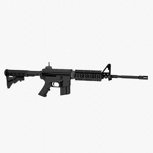 M4 Carbine Rifle 3D model