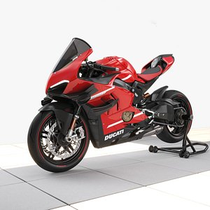 3D ducati superleggera v4