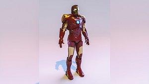 Iron Man model 3D