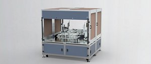 ccd detection assembly machine 3D