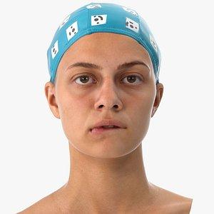 3D penelope human head lip